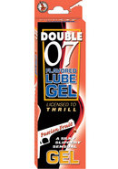 Double 07 Flavored Lube Gel Passion...