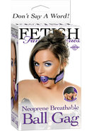 Fetish Fantasy Neoprene Breathable Ball Gag Purple