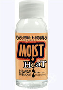 Moist Heat Warming Water Based Lubricant 1 Ounce