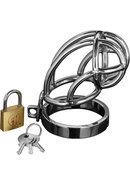 Master Series Captus Locking Chastity Cage 4 Inches
