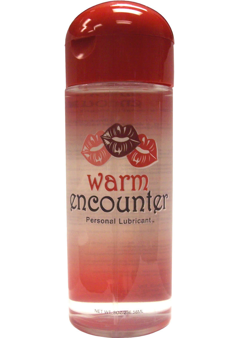 Encounter Warming Gel Water Based Lubricant 8 Ounce
